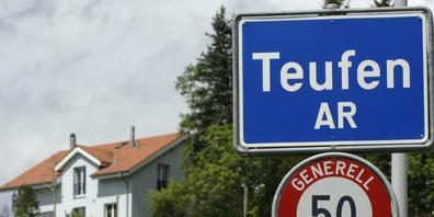Teufen ist in Appenzell Ausserrhoden die Gemeinde mit der höchsten Steuerkraft pro Einwohnerin und Einwohner. (Archivbild)
