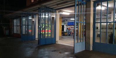 Feuerwehr-Depot der Feuerwehr Wetzikon-Seegräben