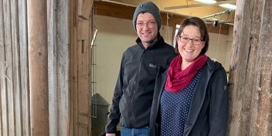 Bruno und Marlene Schweizer bewirtschaften den Bio-Hof mit den ersten Schweizer Bio-Truten. (Bild: lid.ch)