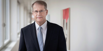 Christian Schmid, CEO der St.Galler Kantonalbank