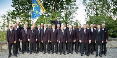 Der Männerchor Rüthi steckt bereits in der Vorbereitung des Rheintaler Gesangsfestes 2021 (Bild: zVg)