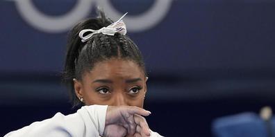 Simone Biles blickt mit gemischten Gefühlen auf ihre Olympia-Teilnahme in Tokio zurück.