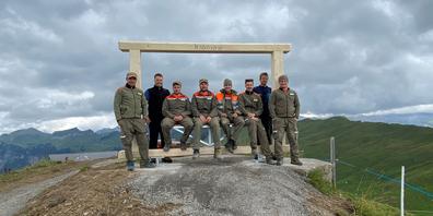 Die Zivilschützer der Region Innerschwyz standen letzte Woche auf dem Spirstock im Einsatz.