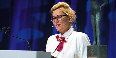 Bettina Fleisch, CEO und Inhaberin der Säntis Packaging AG