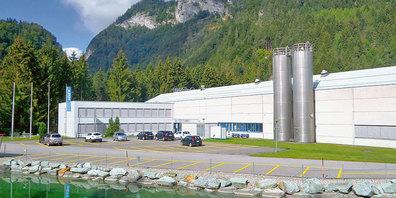 Seit 50 Jahren hat GF auch in Seewis eine Produktionsstätte.