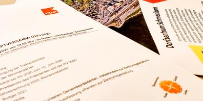 Das Projekt des neuen Dorfzentrums stand bei der diesjährigen Hauptversammlung der CVP Schmerikon im Fokus.