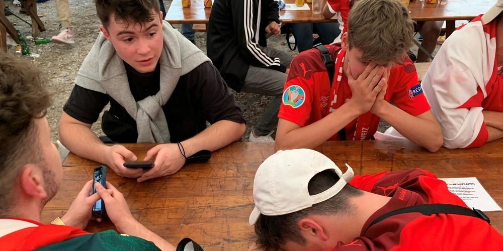 Im Public Viewing Rapperswil-Jona: mitgefiebert und mitgelitten.