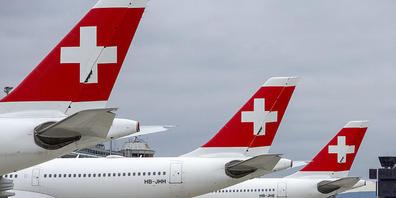 Die Swiss kann ihre Flieger allmählich aus dem Schlafmodus zurückholen. (Archivbild)