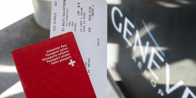Wie der Bundesrat verzichtet auch das Parlament auf die Einführung einer Flugticketabgabe. (Symbolbild)