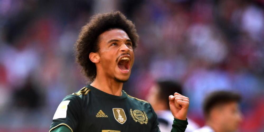 Leroy Sane bringt die Münchner in Führung