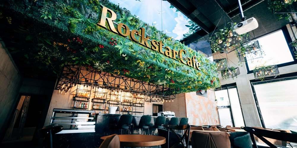Das «Rockstar-Café» in Rorschach wurde als bestes Lokal der Schweiz in der Kategorie «Coffee&Bistro» ausgezeichnet (Bilder: zVg)