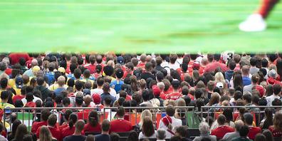 Kein Public-Viewing im Stadion Espenmoos in St. Gallen. Die Auflagen sind den Veranstaltern zu strikt. (Symbolbild)