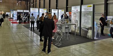 Die Wirtschaftsförderung des Kantons Schaffhausen organisierte einen Gemeinschaftsstand an der Swiss Medtech Expo in Luzern.