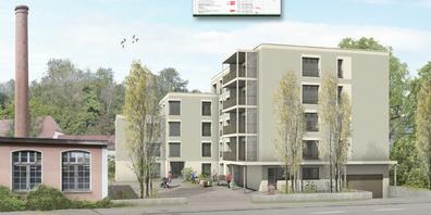 Das vorliegende Projekt ist die letzte Etappe der schrittweisen Umnutzung des ehemaligen Spinnerei-Areals.