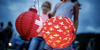 In Altstätten gibt es auch heuer den traditionellen Lampionumzug der Kinder