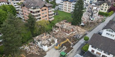 Der illegale Abbruch der Häuser an der Adlerstrasse erhitzte die Gemüter.