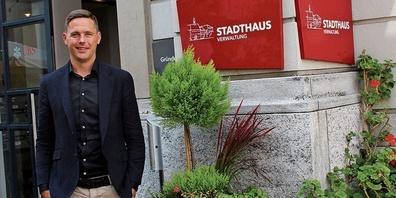 Stadtpräsident Lichtensteig, Mathias Müller.
