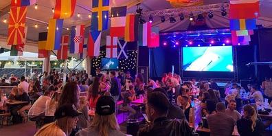 In der BBC EM-Arena in Gossau werden sämtliche Spiele übertragen.