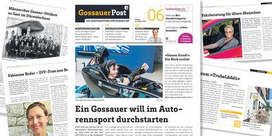 'Gossauer Post' - die unabhängige Gratiszeitung von Gossau ZH