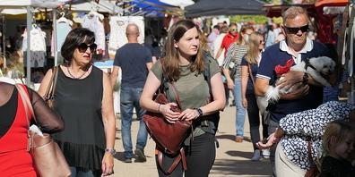Der Herbstmarkt in Heerbrugg durfte viele Besucher begrüssen