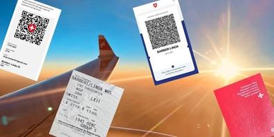 Auf einen Flug müssen neu mehr Dokumente mitgenommen werden, als nur Pass und Ticket.