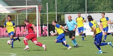 Montlingen und Au-Berneck standen sich in der ersten Meisterschaftsrunde gegenüber