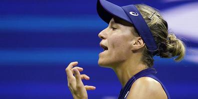 Nicht zufrieden mit ihrer Form: Viktorija Golubic