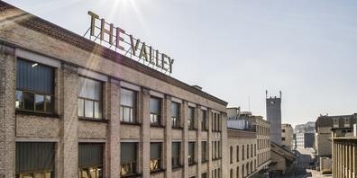 """Neues Gemeinschaftsunternehmen im """"Valley"""", dem ehemaligen Maggi-Areal in Kemptthal."""