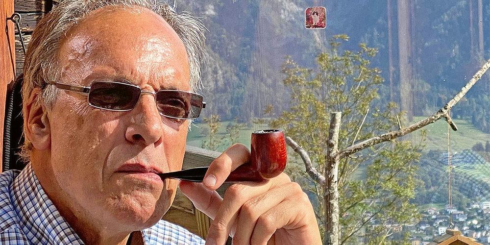 Der scheidende Gemeindepräsident Hans Krättli-Hardegger.