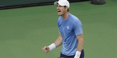 Andy Murray sorgte in Wien für ein Ausrufezeichen