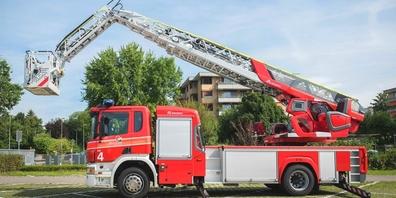 Ein Einsatzfahrzeug der Feuerwehr- und Chemiewehr Rapperswil-Jona.