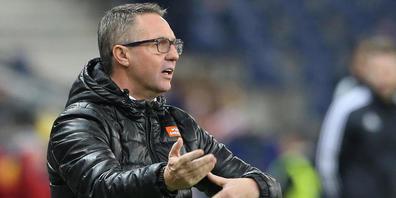 Trainer Damir Canadi fand die Altacher Niederlage gar nicht lustig