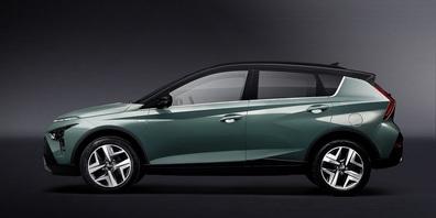 """Der """"kleine"""" SUV Hyundai BAYON überzeugt mit Auftritt, Ausstattung und Leistung."""