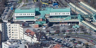 Im Bahnhofsgelände Bregenz kam es zu der gefährlichen Drohung