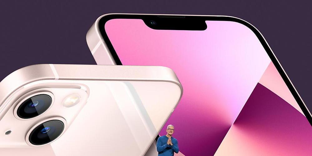 Apple-CEO Tim Cook präsentierte am Dienstag das neue iPhone 13 im kalifornischen Cupertino.