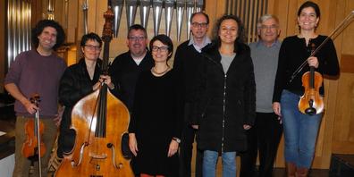 Werden auch an der Orgelnacht in Pfäffikon auftreten: das Organisten-Vokalquartett mit Instrumentalisten.