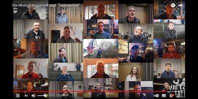 MG Lenggenwil sagt Dankeschön - und Sie können es dank Videoclip gleich miterleben!