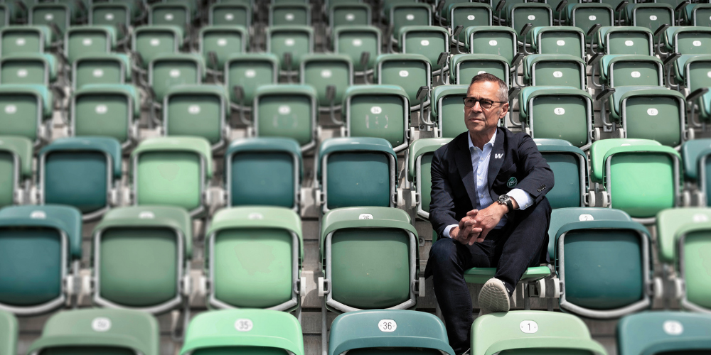 Matthias Hüppi,Präsident FC St.Gallen