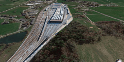In Bubikon soll eine gigantische SBB-Serviceanlage entstehen.