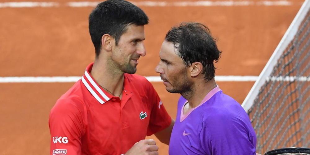 Rafael Nadal und Novak Djokovic standen sich in diesem Jahr in Rom zum bislang letzten Mal gegenüber