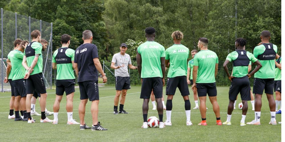 Seit dieser Woche befindet sich die Mannschaft im Trainingslager im Bad Ragaz.