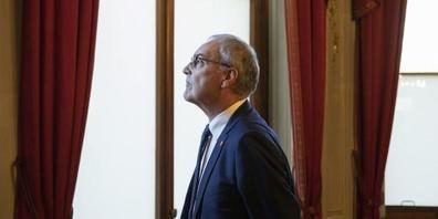 Bundespräsident Guy Parmelin musste sich gedulden, bis er nach 20 Stunden endlich in Tokio ankam. (Archivbild)