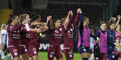 Die Schweizer Fussballmeisterinnen von Servette Chênois spielen in dieser Saison in der Champions League