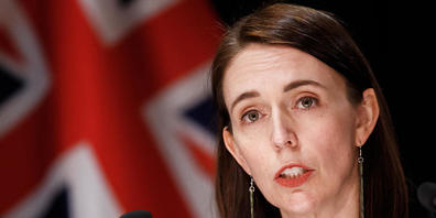 Prime Minister Jacinda Ardern speaks at press conference at New Zealand Parliament in Auckland, New Zealand, Friday, September 3, 2021. A Sri Lankan national injured six people at an Auckland supermarket on Friday in a terrorist attack. (AAP Image...