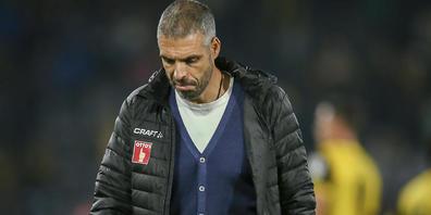 Schon zu oft in dieser Saison musste Luzerns Trainer Fabio Celestini den Platz enttäuscht verlassen
