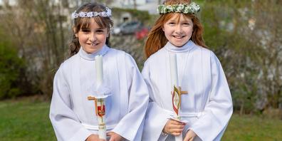 Am Weissen Sonntag fanden vorerst nur vier Erstkommunionfeiern statt – in Altendorf, in Schübelbach, in Reichenburg und in Vorderthal.