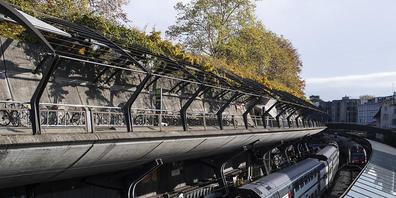 Am Zürcher Bahnhof Stadelhofen kam es in der Nacht zum Sonntag zu einem Gewaltdelikt. (Archivbild)