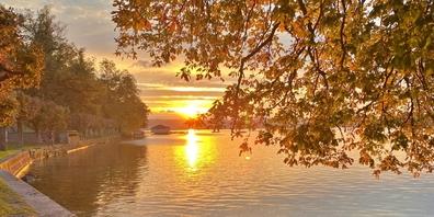 Die goldige Jahreszeit: der Herbst kann wunderschön sein.
