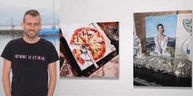Der junge Künstler Stefan Brucherseifer zeigt im Museum Amden erstmals sein Schaffen in einer Einzelausstellung.