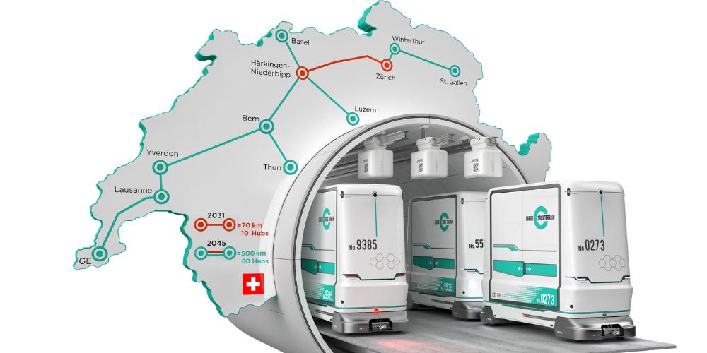 Netzerweiterung von «Cargo sous terrain» Richtung Ostschweiz wird geprüft